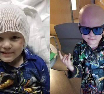 5 yaşındaki Garrett, vasiyeti ve olgunluğu ile tüm dünyayı ağlattı
