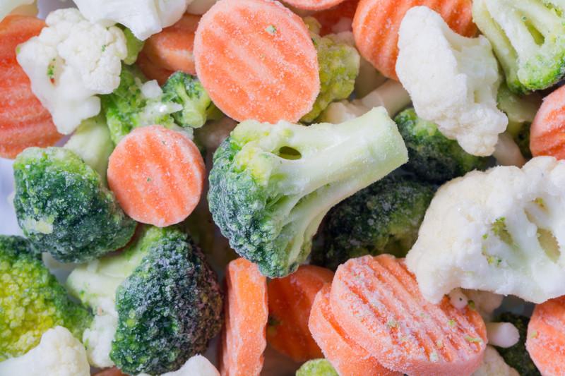 Dondurulmuş sebze ve meyveler nasıl bir değişime uğrar