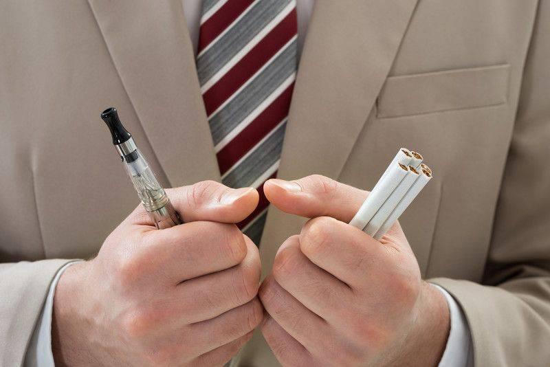 Elektronik sigara e sigara zararsızdır