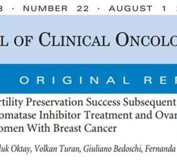 Erken evre meme kanserinde kullanılan kemoterapiler genç hastalarımızda anne olabilme hayalini (doğurganlığını) yok edemeyecek