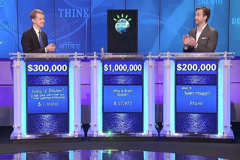 IMB watson 2011 de abd de bilgi yarışması jeopardy kazandı