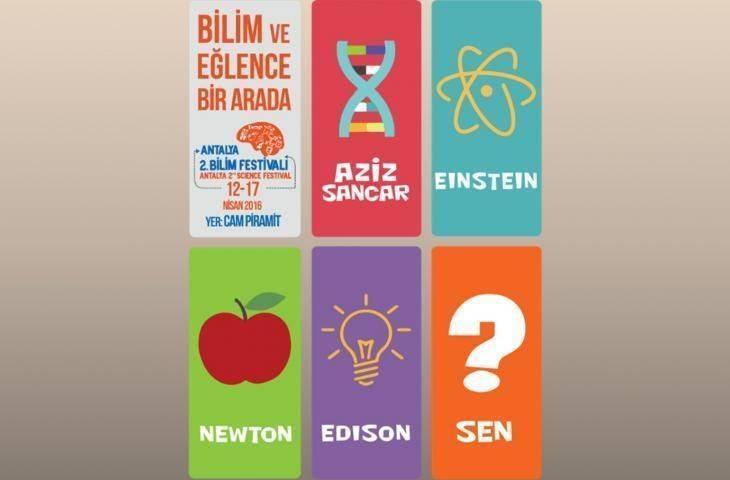 İkinci Antalya Bilim Festivali'nde biz de yerimizi aldık: kanseri bilim ve eğlence ile anlatacağız