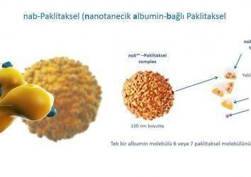 Radyoduyarlaştırıcılar, nanoterapötikler, nanotanecik albumin-bağlı paklitaksel