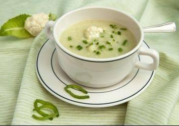 Sağlıklı bir yemek tarifi: Karnabahar Çorbası