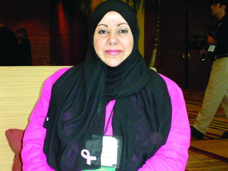 Samia Al Amoudi meme kanseri