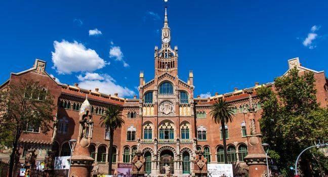 Santa Creu St Pau Hastanesi Barcelona İspanya