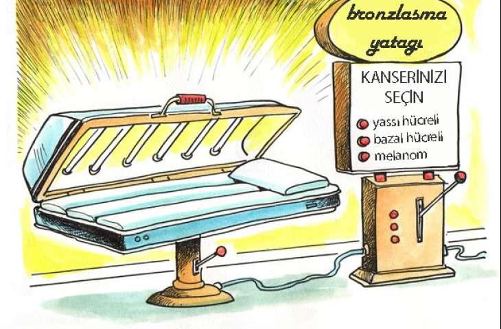 Solaryum gibi bronzlaşma cihazlarının yasaklanması, birçok yaşamı ve parayı kurtarabilir