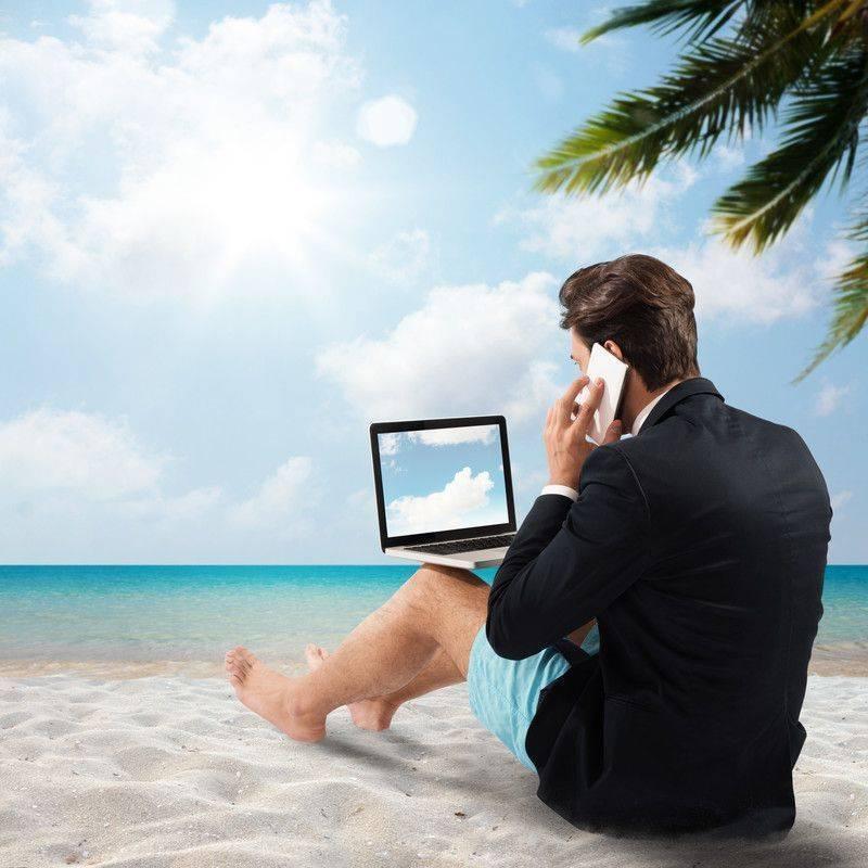 Tatilde yanınızda iş götürmeyin