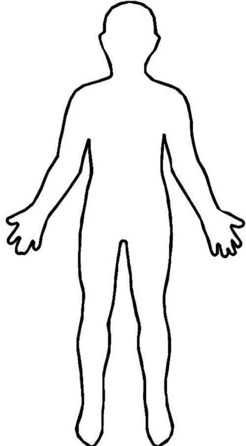 body outline örnek resim