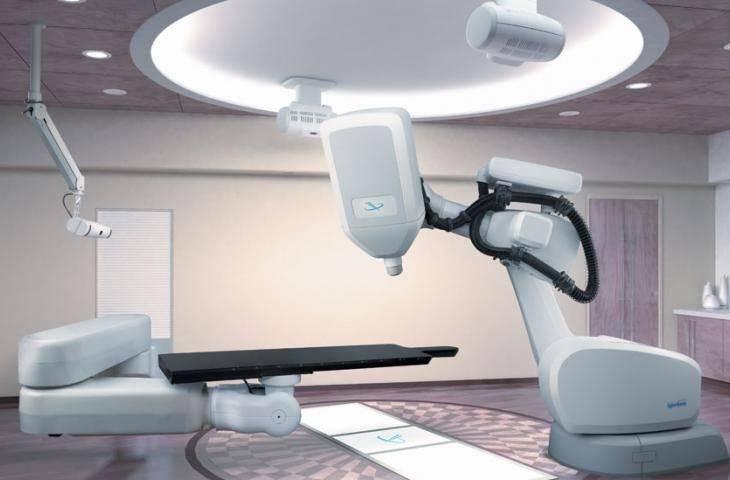 CyberKnife Radyocerrahi ile radyoterapi - ışın tedavisi