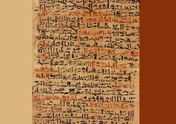Edwin Smith Cerrahi Papirüs MÖ 1600 – En eski cerrahi belge