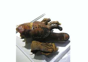Greville Chester Büyük Ayak Parmağı MÖ 1000 – Dünyanın en eski protezi