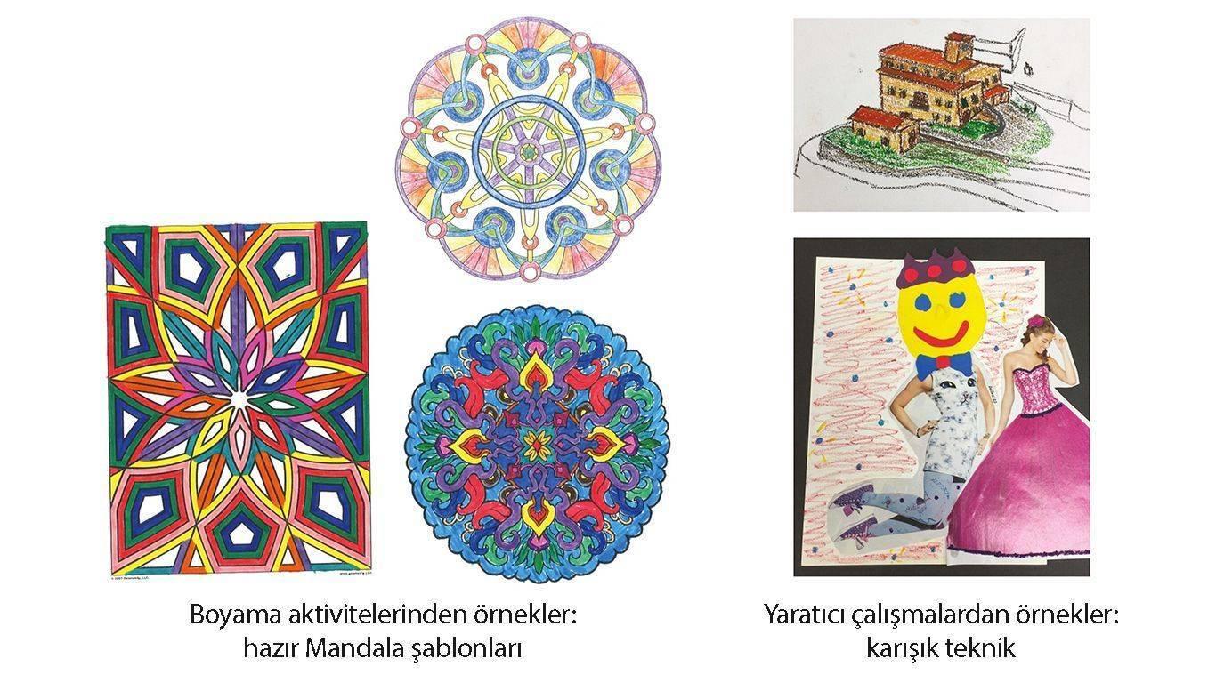 Boyama Kitaplari Sanat Terapisinin Yerini Tutmuyor