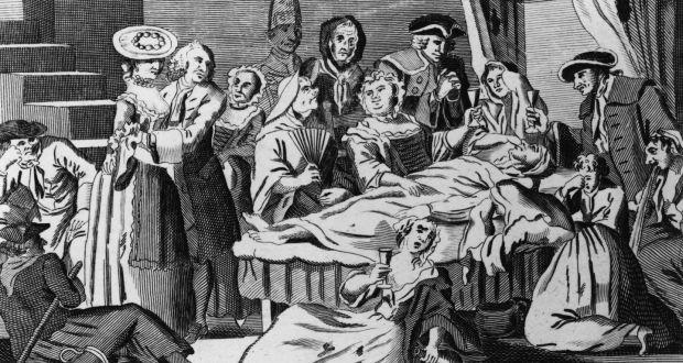 irlanda uyanışı cenaze töreni nedir