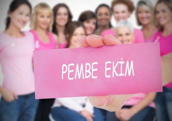 Meme kanseri farkındalık ayı – Pembe Ekim