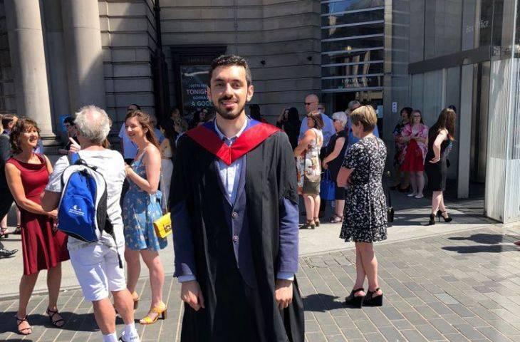 OncoTrust ekibimizden genetik mühendisi Okan Çakır, Edinburg Napier Üniversitesi yüksek lisansı birincilikle tamamladı