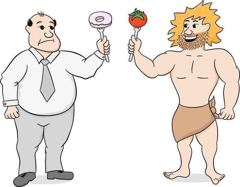 paleo diyet taş devri mağara adamı diyeti