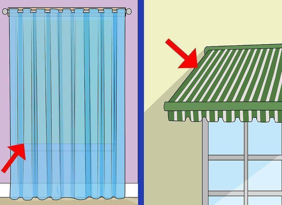 pencere güneşliği ve panjur kullanın