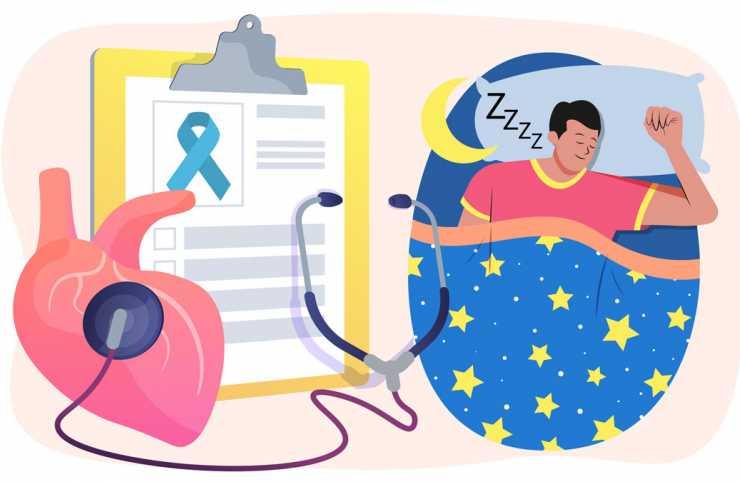 Sağlıklı uyku düzeni, kanser ve kalp hastalığı ilişkili yaşam kaybı riskini azaltıyor