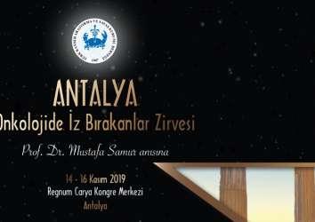 Kanserde Öncü Türk Bilim İnsanları, Antalya Onkolojide İz Bırakanlar Zirvesi'nde Buluşuyor