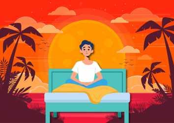 Uzun ve sıcak yaz günleri uykuyu nasıl etkiler? İdeal dinlenmeyi nasıl sağlayabilirim?