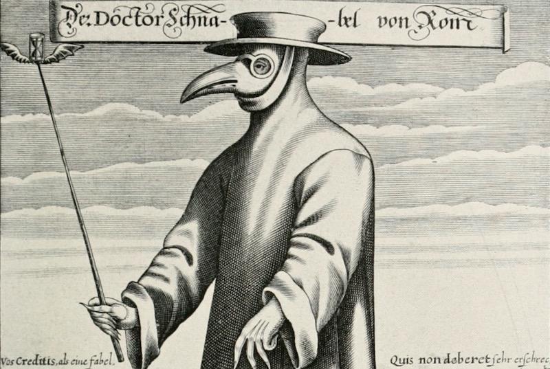veba doktoru maskesi
