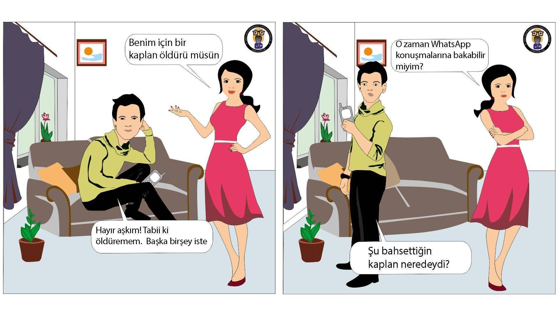whatsapp güven problemlerine hatta boşanmaya yol açabiliyor kariktür