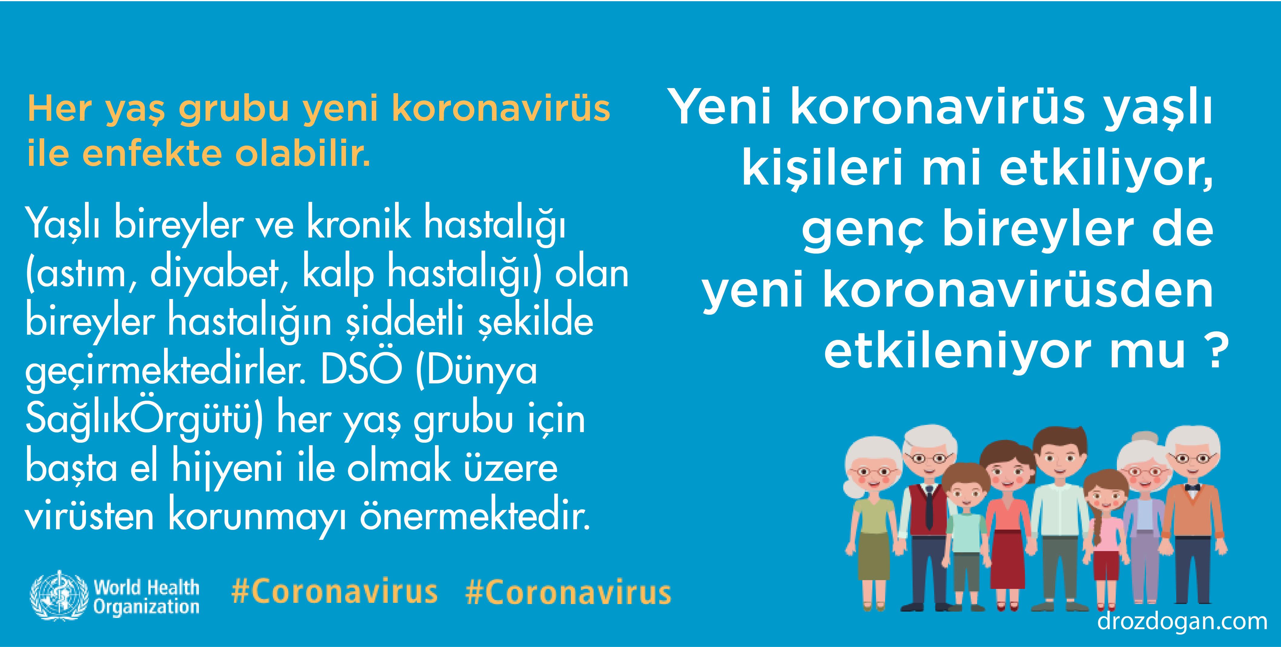 yeni koronavirüs sadece yaşlıları mı etkiler